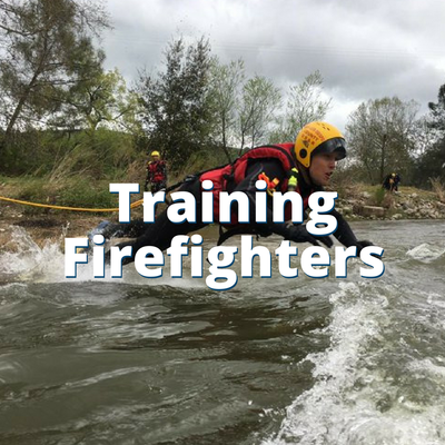 Training County Firefighters