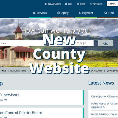 New County Website