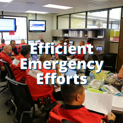 Efficient Emergency Efforts
